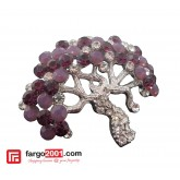 Tree Broach Purple