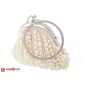 Triangle Pearl Pouch