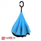 Reverse Inverted Upside Down Double Layer Umbrella