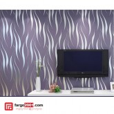 Wallpaper 3D Ripple Non Woven 53CMx10M (550607)