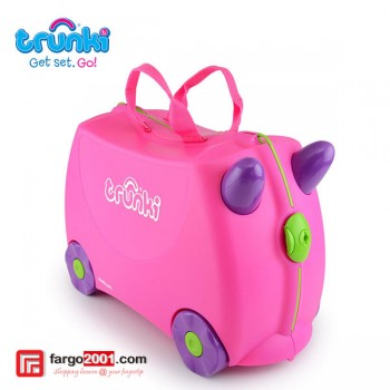 Trunki Ride On, Pull Along Children's Suitcase - Trixie