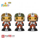 Funko Pop Star Wars - 3 Pack Pilot (Biggs, Widge, Porkins)