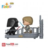Funko Pop Star Wars - Moments Cloud City Duel Darth Vader us Luke