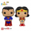 Funko Salt & Pepper Set - Superman & Wonderwomen