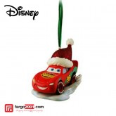 Disney - Lightning McQueen Santa Ornament