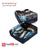 Travelling Clothes Organizer Man - Navy Blue