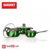 5 pcs cookware set Maestro Green