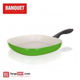 Steak Pan With Ceramic Non - Stick Surface (26cm) Green