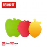 Plastic Cutting Board Fruit Color Mix