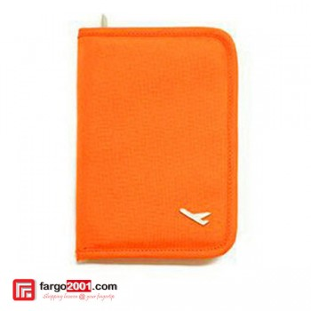 Passport Organizer Orange